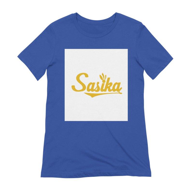Sasika Design Original Women's Extra Soft T-Shirt by Sasika Design Artist Shop