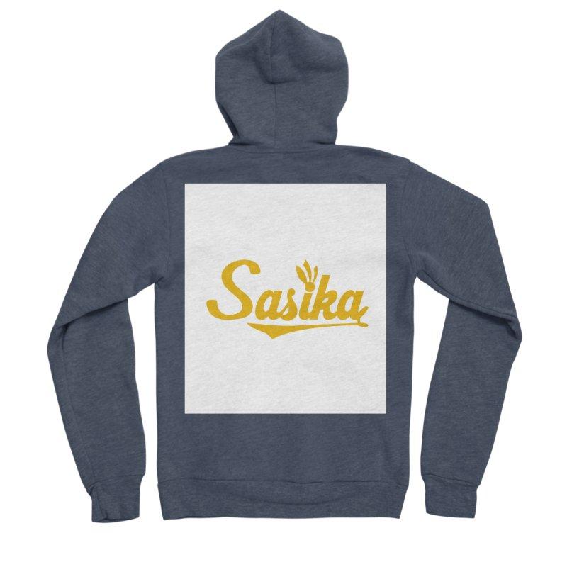Sasika Design Original Men's Sponge Fleece Zip-Up Hoody by Sasika Design Artist Shop