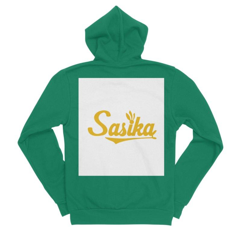 Sasika Design Original Women's Sponge Fleece Zip-Up Hoody by Sasika Design Artist Shop