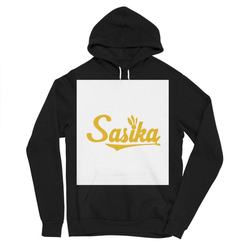 Sasika Design Original Men's Sponge Fleece Pullover Hoody by Sasika Design Artist Shop