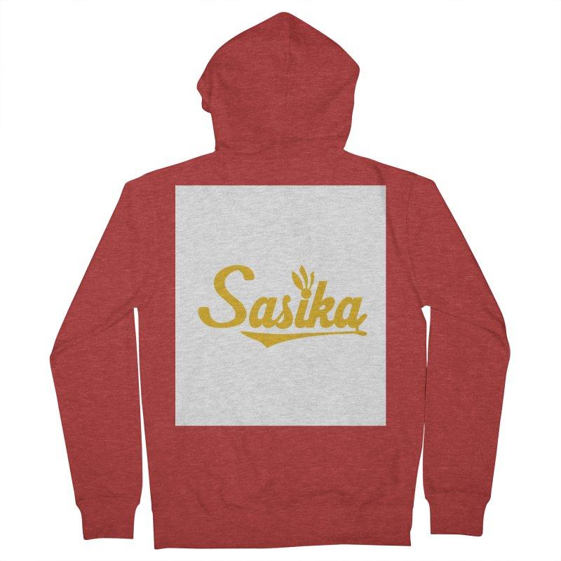 Sasika Design Original Women's French Terry Zip-Up Hoody by Sasika Design Artist Shop
