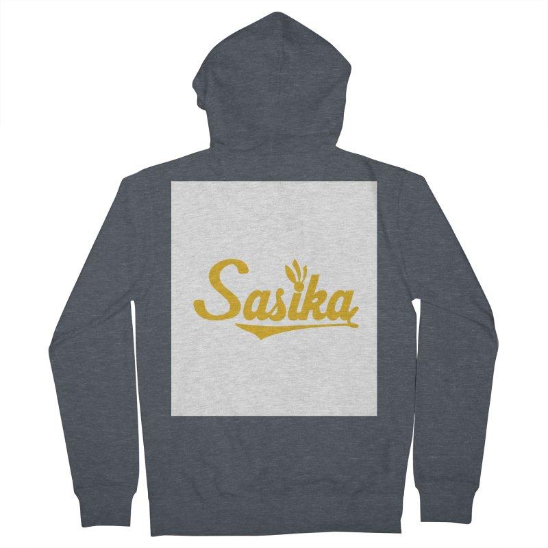 Sasika Design Original Men's French Terry Zip-Up Hoody by Sasika Design Artist Shop