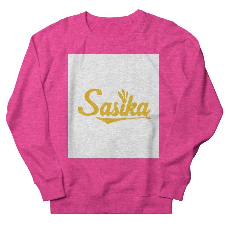 Sasika Design Original Women's French Terry Sweatshirt by Sasika Design Artist Shop