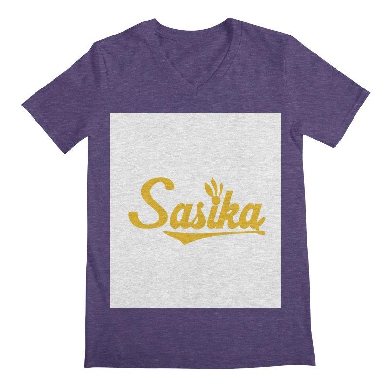 Sasika Design Original Men's Regular V-Neck by Sasika Design Artist Shop