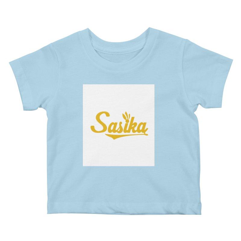 Sasika Design Original Kids Baby T-Shirt by Sasika Design Artist Shop