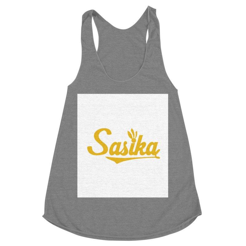 Sasika Design Original Women's Racerback Triblend Tank by Sasika Design Artist Shop