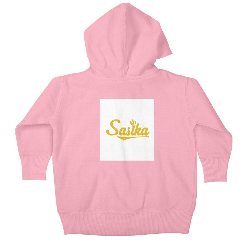 Sasika Design Original Kids Baby Zip-Up Hoody by Sasika Design Artist Shop