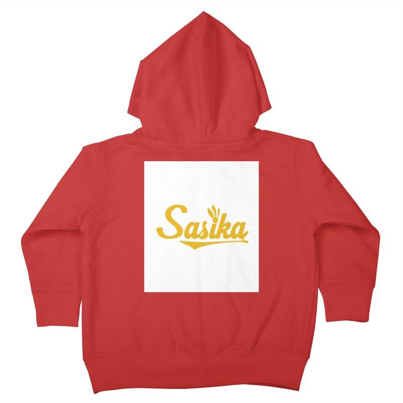 Sasika Design Original Kids Toddler Zip-Up Hoody by Sasika Design Artist Shop