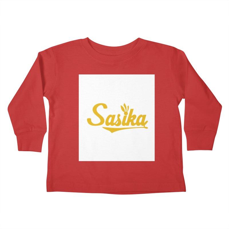 Sasika Design Original Kids Toddler Longsleeve T-Shirt by Sasika Design Artist Shop