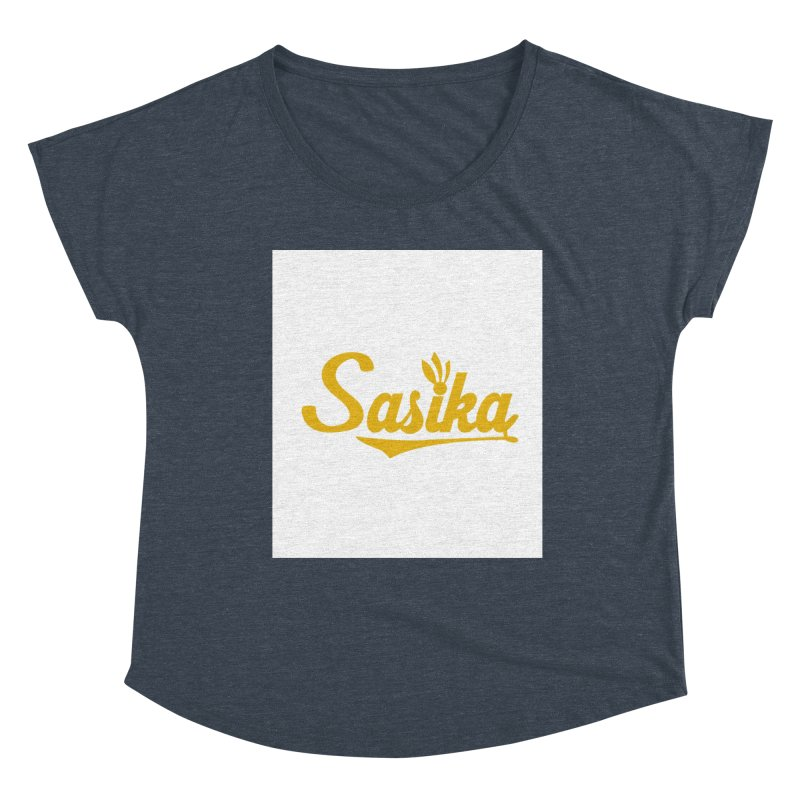 Sasika Design Original Women's Scoop Neck by Sasika Design Artist Shop