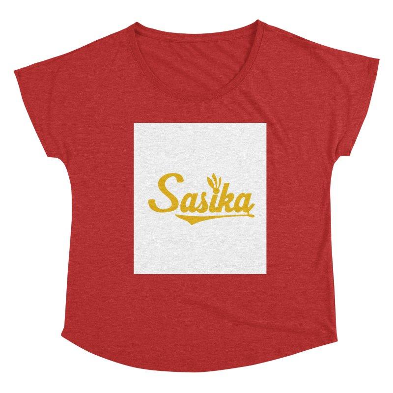 Sasika Design Original Women's Scoop Neck by Sasika Design Artist Shop