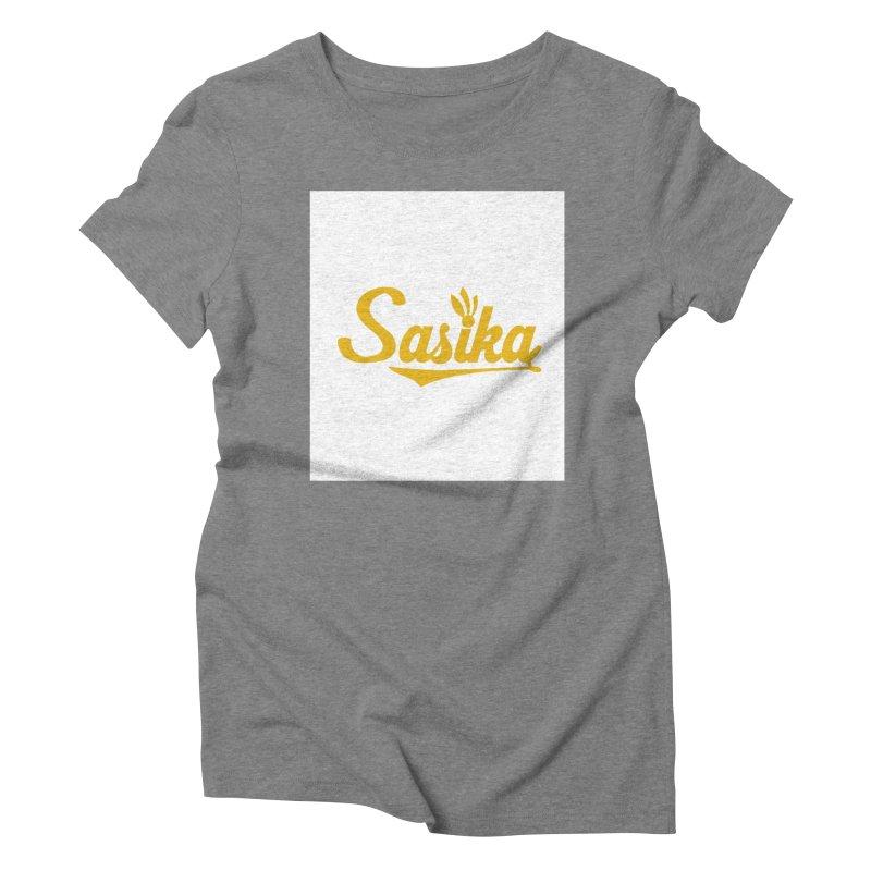 Sasika Design Original Women's Triblend T-Shirt by Sasika Design Artist Shop