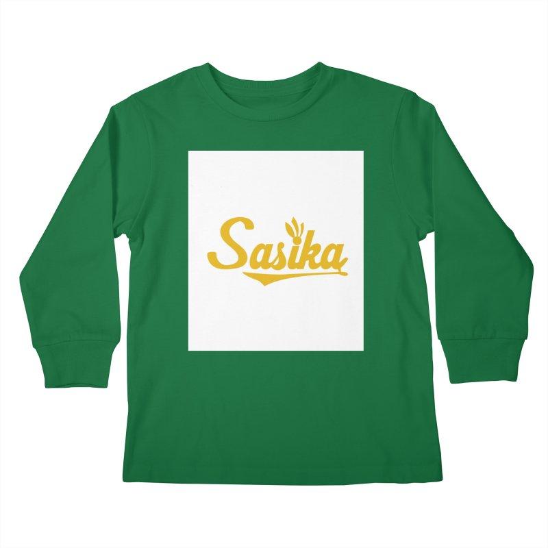 Sasika Design Original Kids Longsleeve T-Shirt by Sasika Design Artist Shop