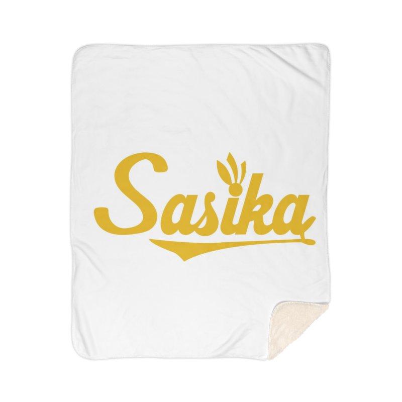 Sasika Design Original Home Sherpa Blanket Blanket by Sasika Design Artist Shop