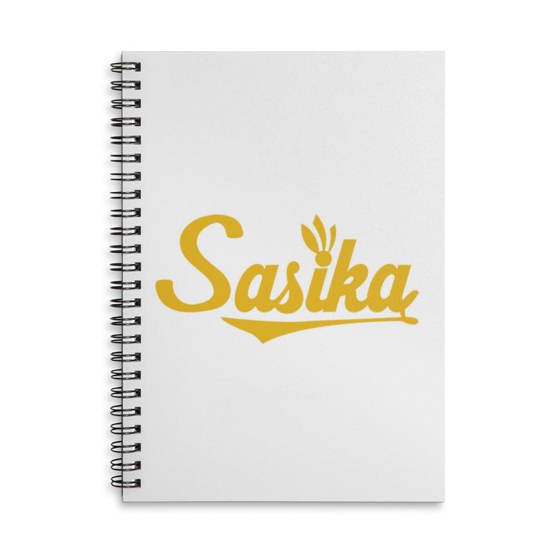 Sasika Design Original Accessories Lined Spiral Notebook by Sasika Design Artist Shop