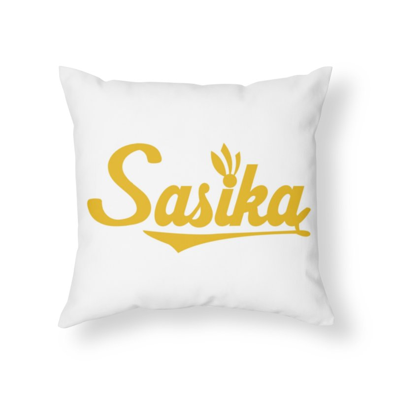 Sasika Design Original Home Throw Pillow by Sasika Design Artist Shop