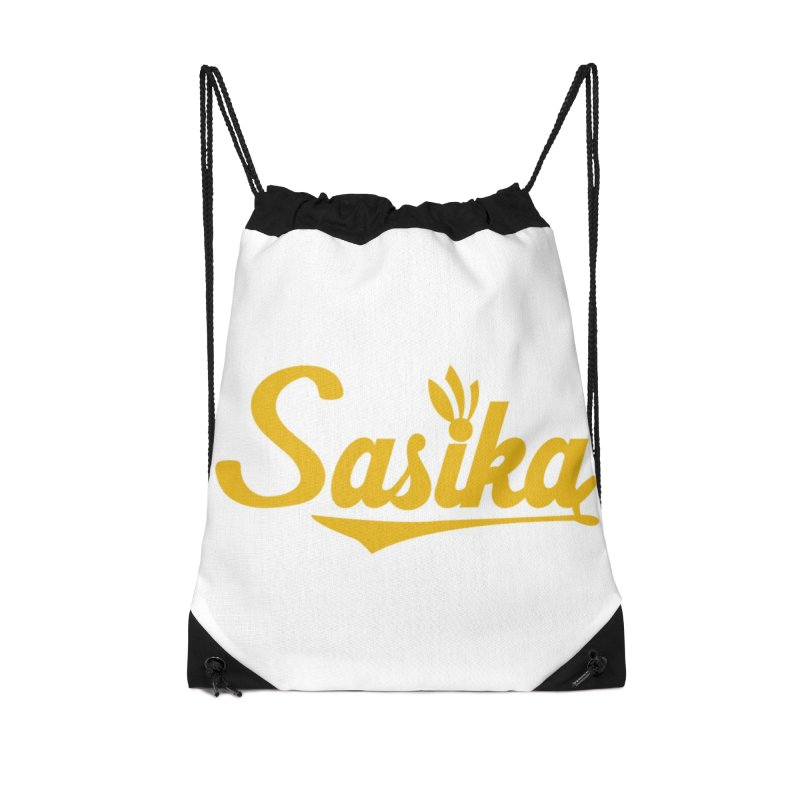 Sasika Design Original Accessories Drawstring Bag Bag by Sasika Design Artist Shop
