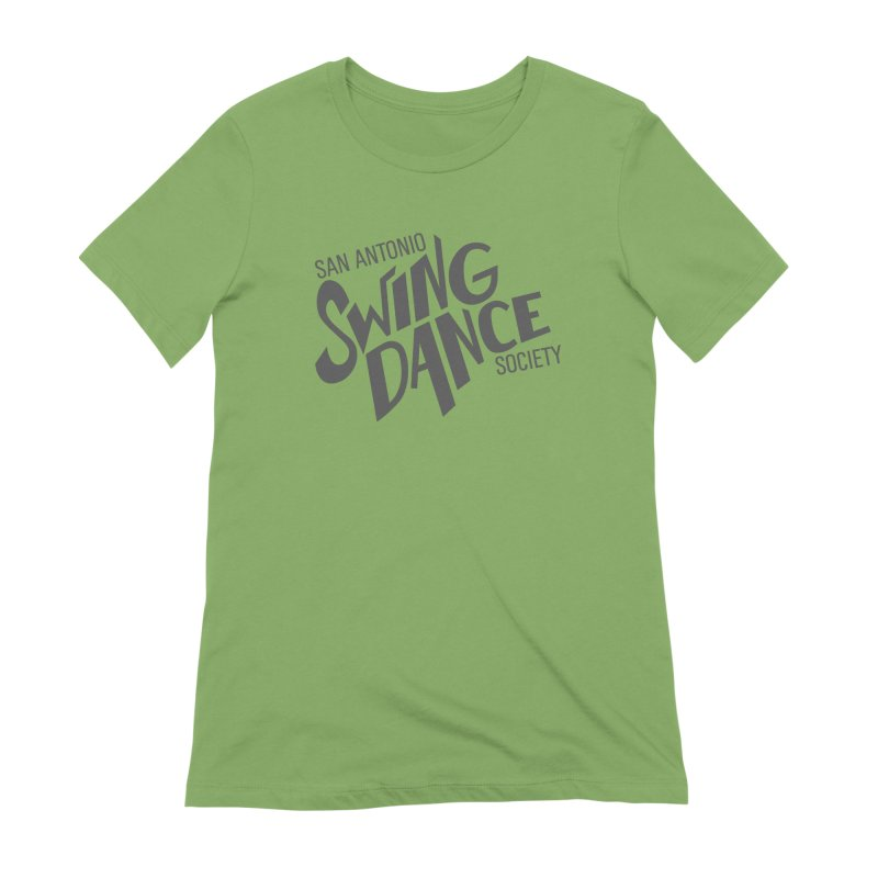 SASDS_DARK Women's Extra Soft T-Shirt by SAs Swing's Artist Shop