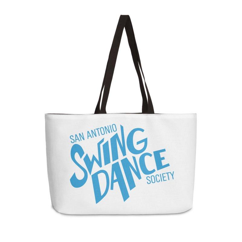 SASDS_BLUE Accessories Weekender Bag Bag by SAs Swing's Artist Shop