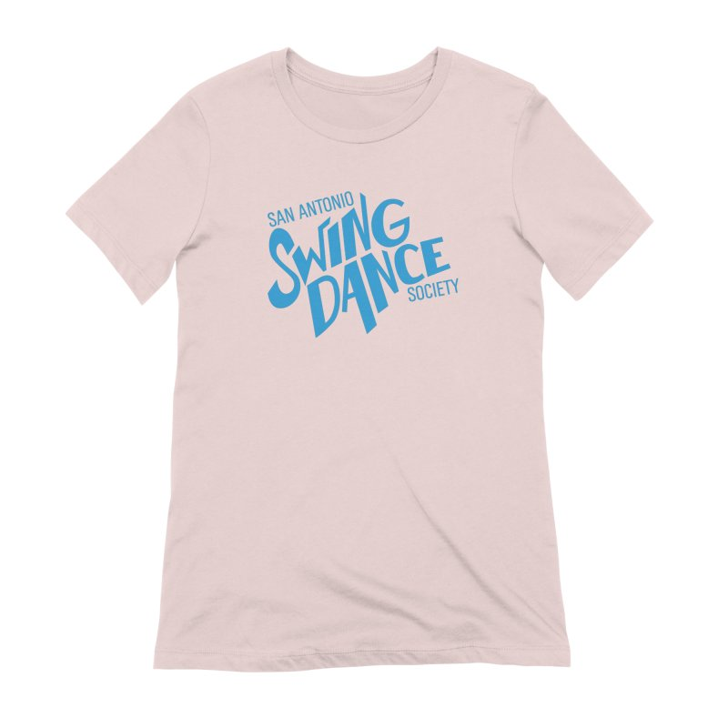 SASDS_BLUE Women's Extra Soft T-Shirt by SAs Swing's Artist Shop