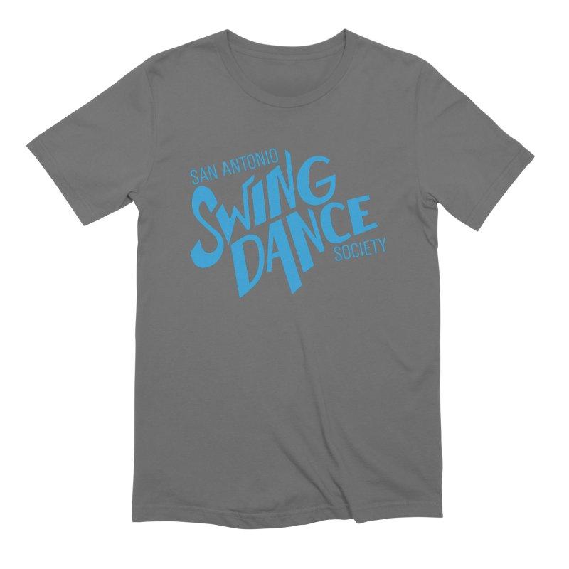 SASDS_BLUE Men's T-Shirt by SAs Swing's Artist Shop