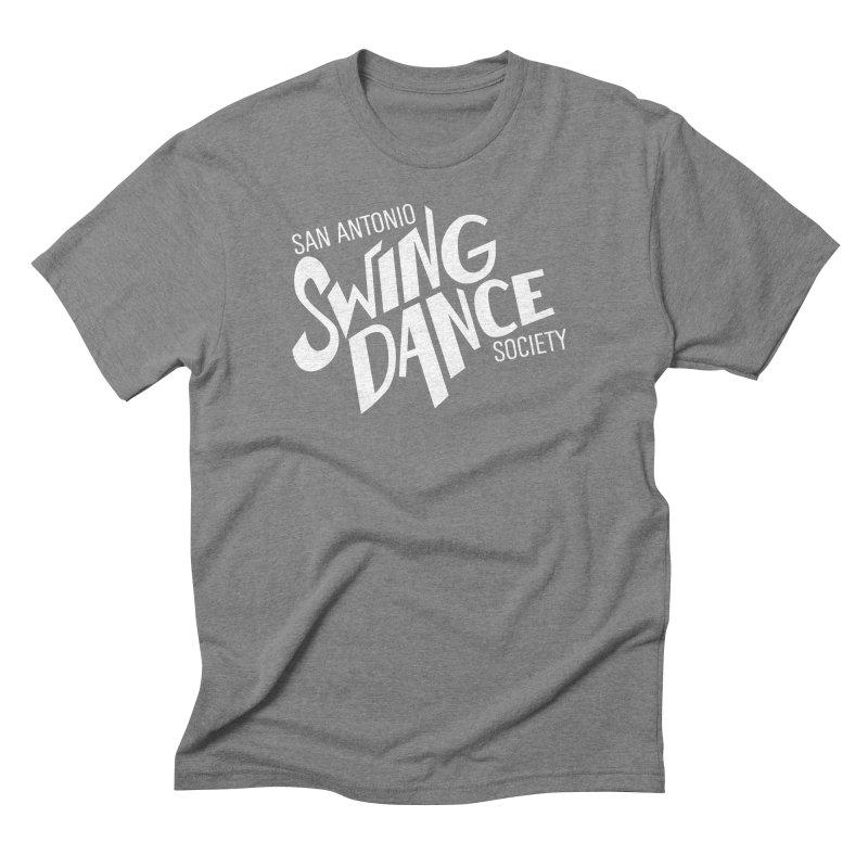 SASDS_White Men's Triblend T-Shirt by SAs Swing's Artist Shop