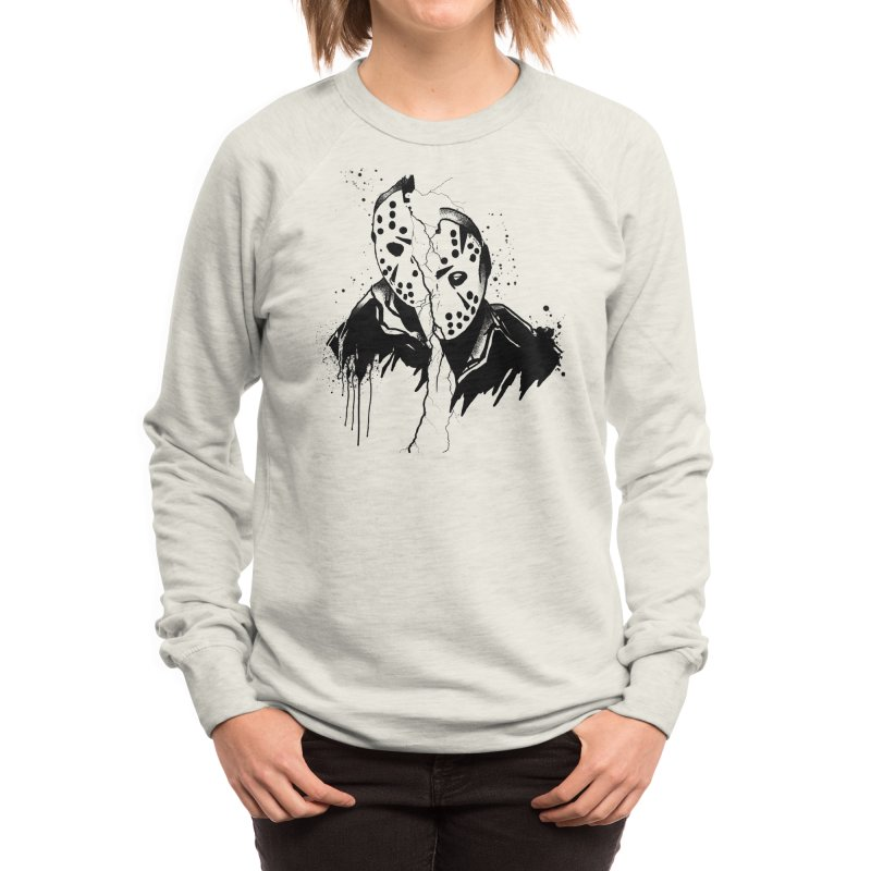Friday the 13th Women's Sweatshirt by Satan's Lair