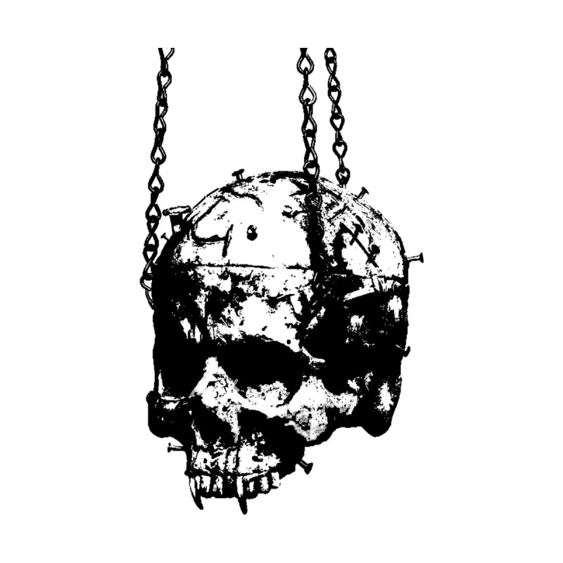 Vampire's skull Men's Longsleeve T-Shirt by Satan's Lair