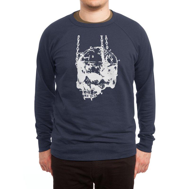 Vampire's skull inversion Men's Sweatshirt by Satan's Lair