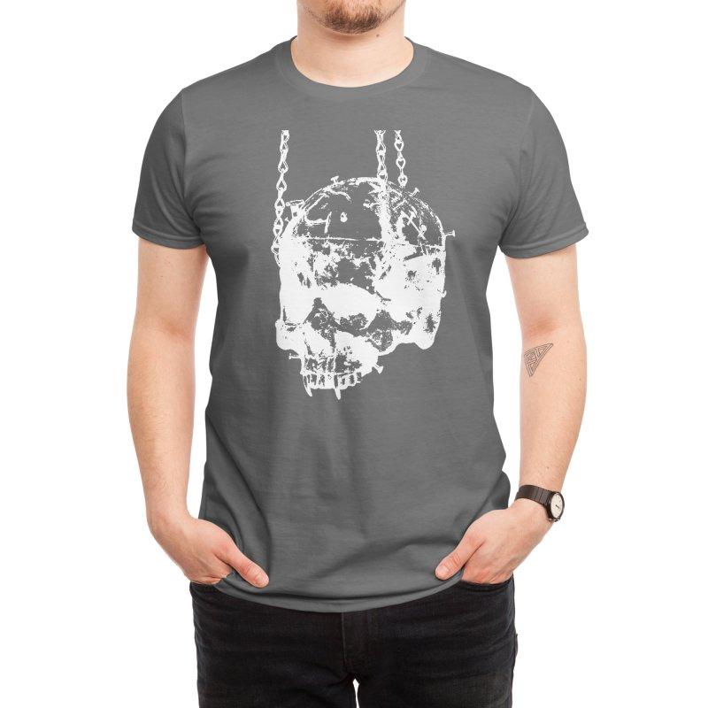 Vampire's skull inversion Men's T-Shirt by Satan's Lair