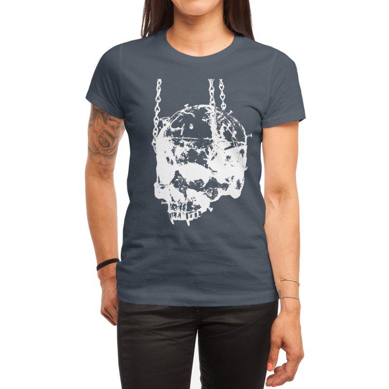 Vampire's skull inversion Women's T-Shirt by Satan's Lair