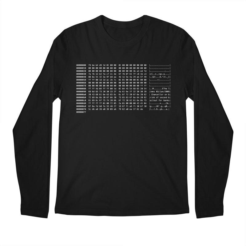 Genesis Men's Regular Longsleeve T-Shirt by satoshi's Artist Shop