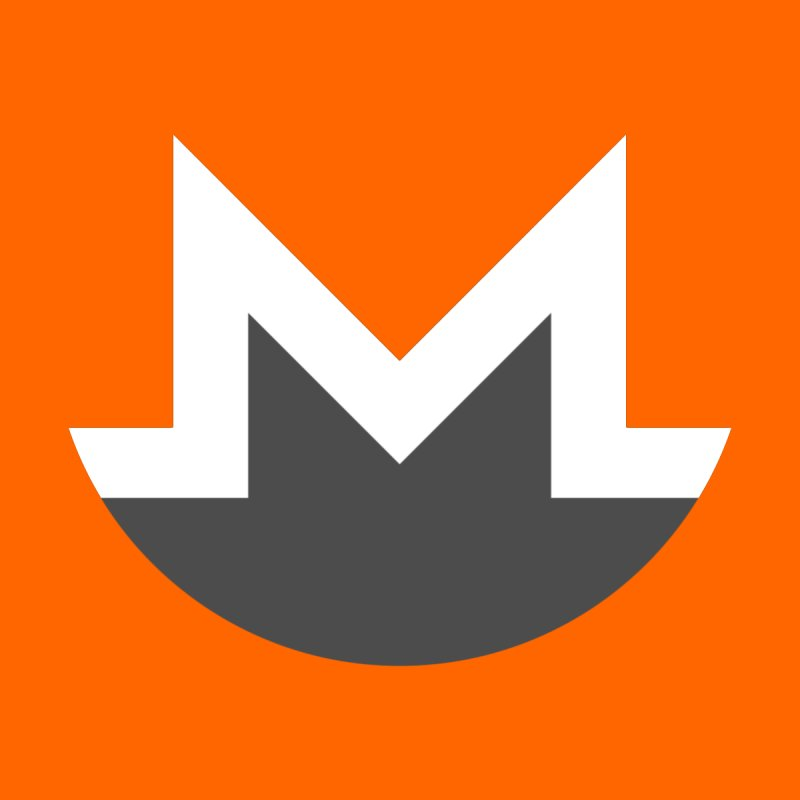Monero Logo Home Mounted Acrylic Print by satoshi's Artist Shop
