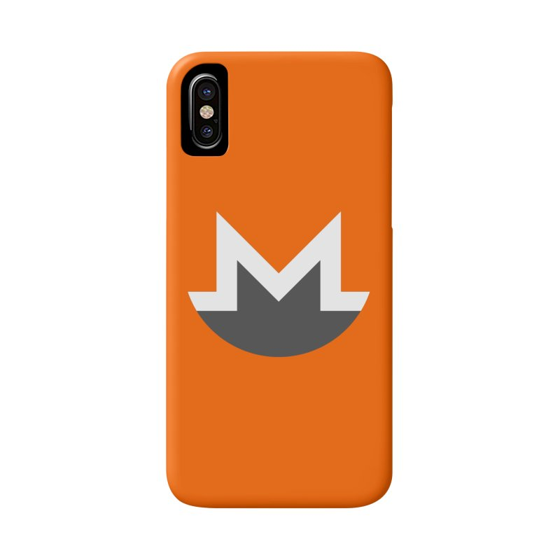 Monero Logo Accessories Phone Case by satoshi's Artist Shop