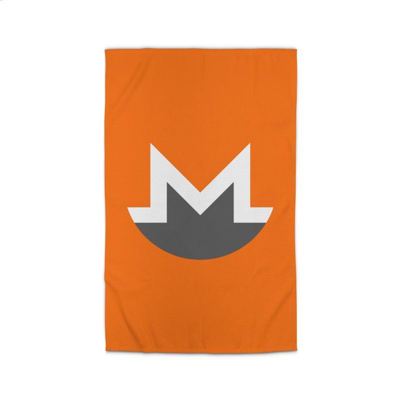 Monero Logo Home Rug by satoshi's Artist Shop