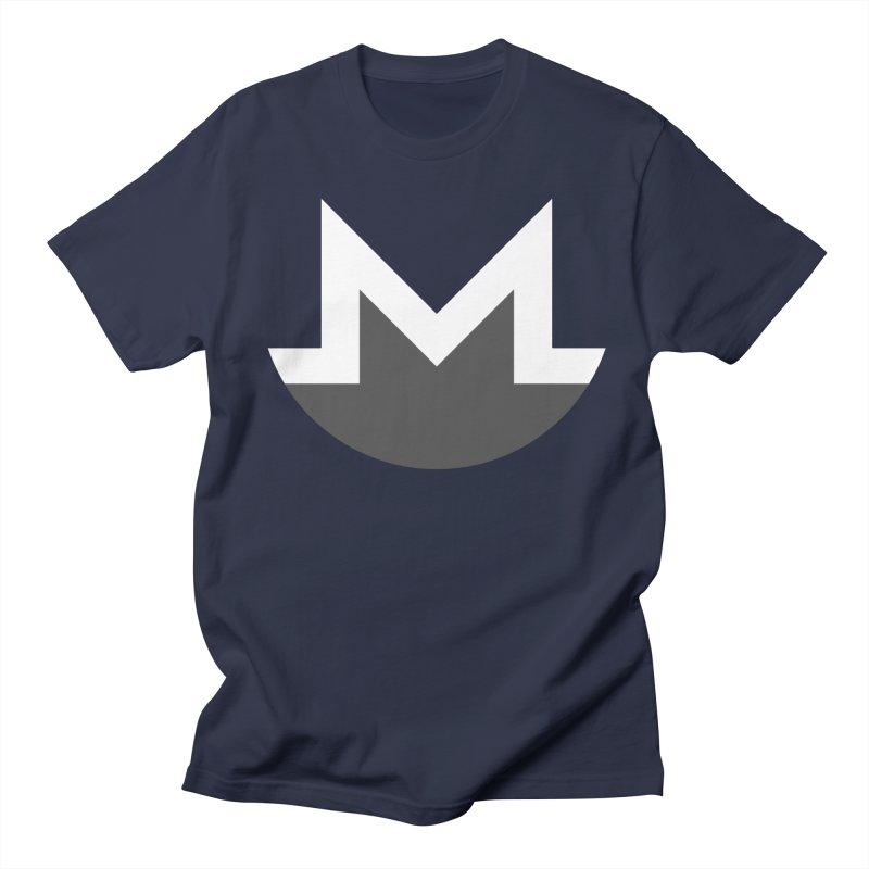 Monero Logo Men's T-Shirt by satoshi's Artist Shop