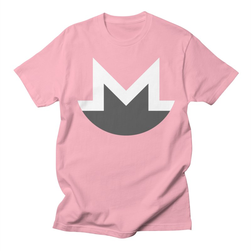 Monero Logo Men's T-Shirt by satoshi's Artist Shop