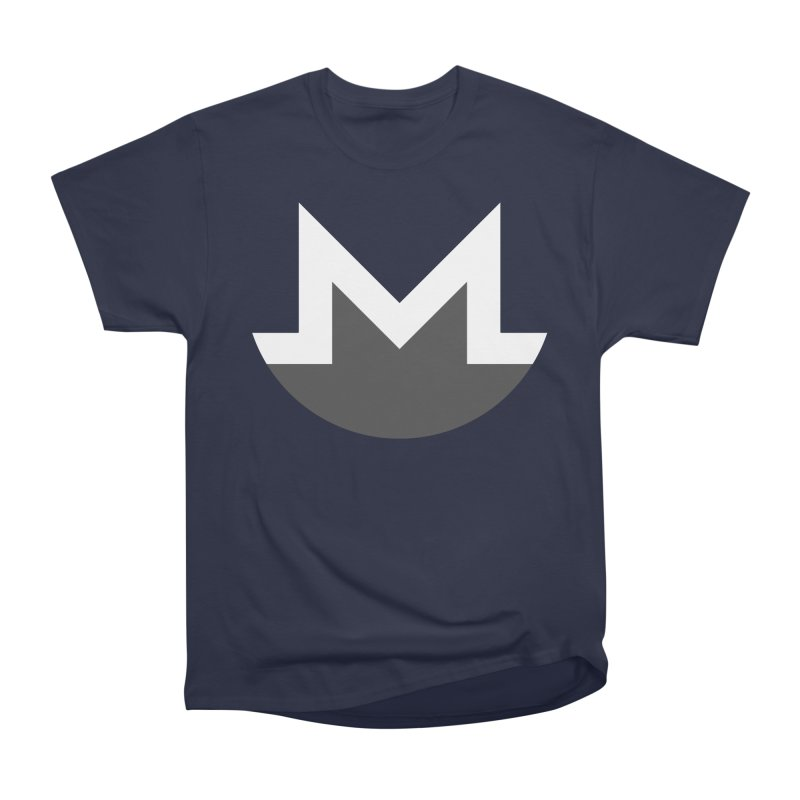 Monero Logo Men's Heavyweight T-Shirt by satoshi's Artist Shop