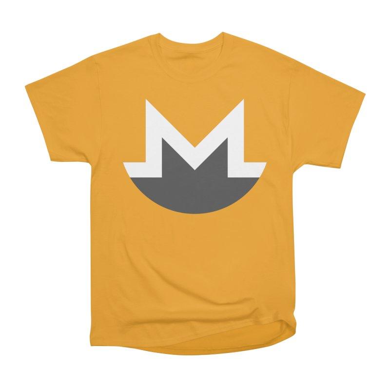 Monero Logo Women's Heavyweight Unisex T-Shirt by satoshi's Artist Shop
