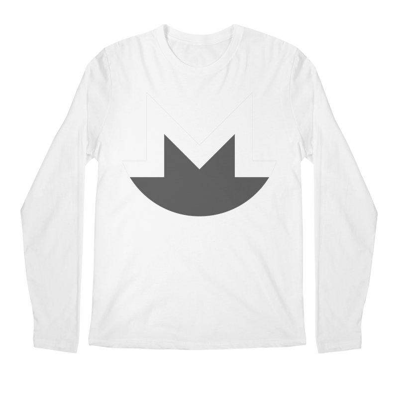 Monero Logo Men's Regular Longsleeve T-Shirt by satoshi's Artist Shop