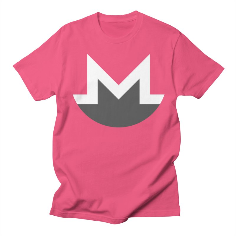 Monero Logo Men's Regular T-Shirt by satoshi's Artist Shop