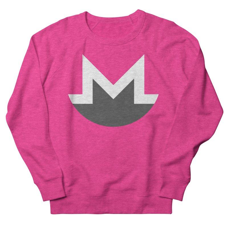 Monero Logo Men's French Terry Sweatshirt by satoshi's Artist Shop