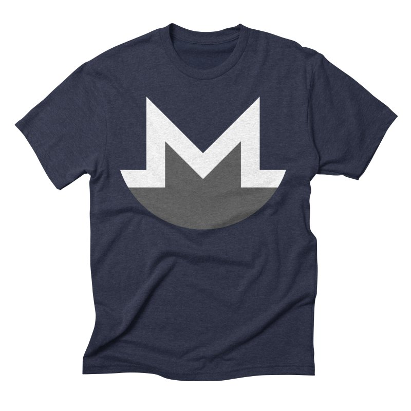 Monero Logo Men's Triblend T-Shirt by satoshi's Artist Shop