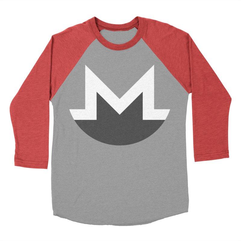 Monero Logo Women's Baseball Triblend Longsleeve T-Shirt by satoshi's Artist Shop