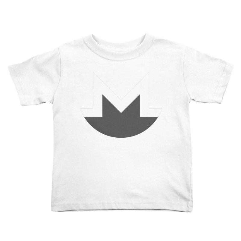 Monero Logo Kids Toddler T-Shirt by satoshi's Artist Shop