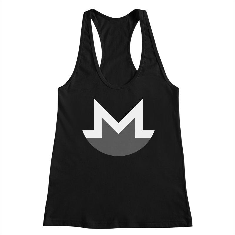 Monero Logo Women's Tank by satoshi's Artist Shop