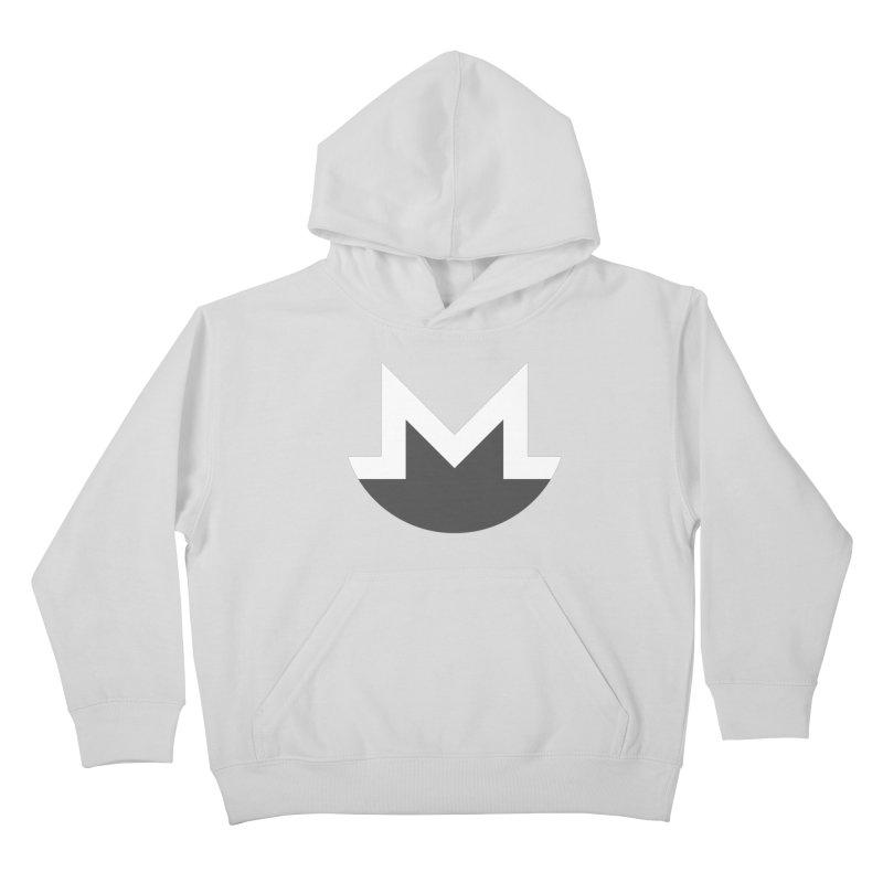 Monero Logo Kids Pullover Hoody by satoshi's Artist Shop