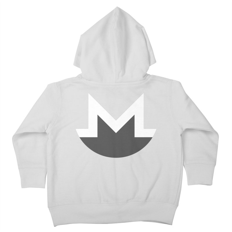 Monero Logo Kids Toddler Zip-Up Hoody by satoshi's Artist Shop