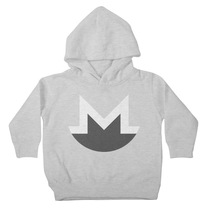 Monero Logo Kids Toddler Pullover Hoody by satoshi's Artist Shop
