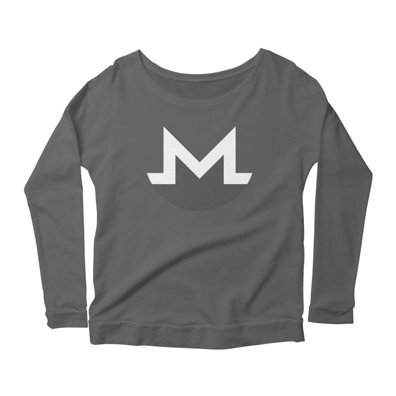Monero Logo Women's Longsleeve T-Shirt by satoshi's Artist Shop